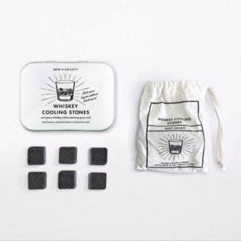 MEN'S SOCIETY WHISKEY COOLING STONES PACKAGING