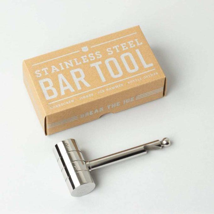 izola minibar alat 4 u 1 od nehrđajućeg čelika i kutija