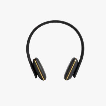 KREAFUNK aHEAD WIRELESS BLUETOOTH BLACK HEADPHONES