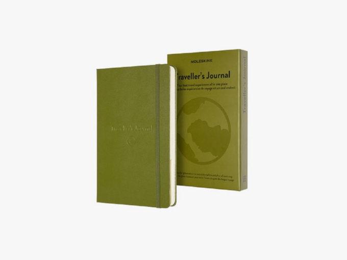dnevnik za putovanja i kutija pakiranje