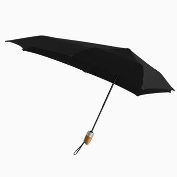 senz automat deluxe kišobran crne boje