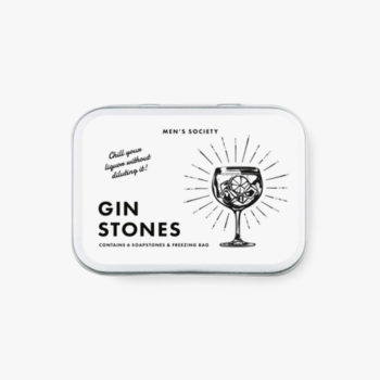 MEN'S SOCIETY GIN COOLING STONES PACKAGING