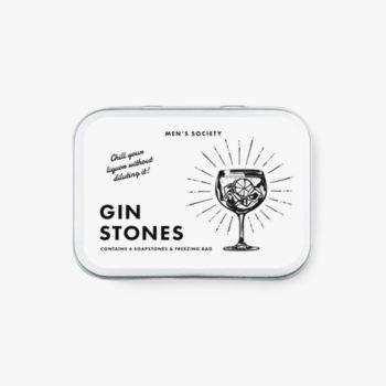men's society kamene kocke za gin pakiranje