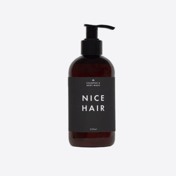 MEN'S SOCIETY NICE HAIR SHAMPOO AND BODY WASH MADE FROM NATURAL INGREDIENTS