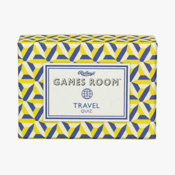RIDLEY'S GAMES TRAVEL QUIZ GAME PACKAGING