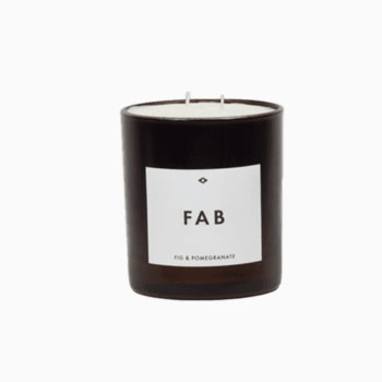 FAB SCENTED CANDLE FIG AND POMEGRANATE