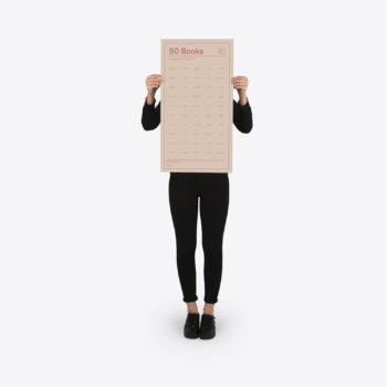 doiy interaktivni poster 50 knjiga koje trebate pročitati