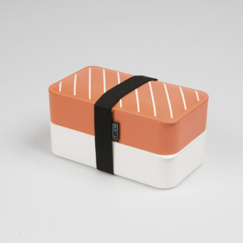DOIY NIGIRI BENTO LUNCH BOX WITH TWO COMPARTMENTS