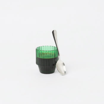 DOIY SAGUARO STACKABLE GREEN COFFEE CUPS MADE FROM GLASS LIFESTYLE