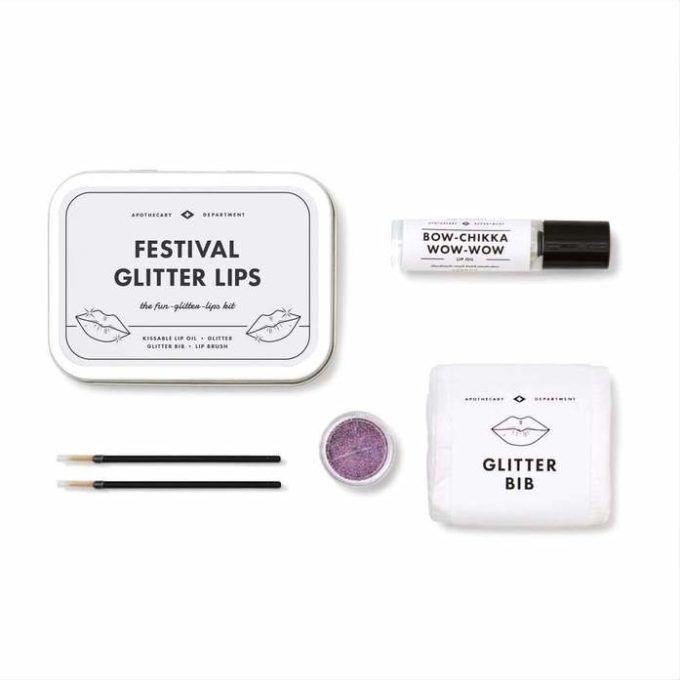 men's society festival set za glitter usne kutija i sadržaj