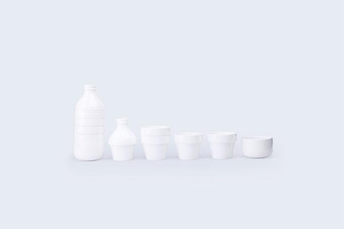 doiy porculanski set od 4 šalice i 2 posude za mlijeko i šećer s mlijekom molim razdvojene