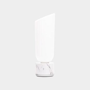 Lexon miami light prijenosna LED svjetiljka bijeli mramor