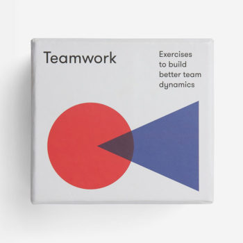 SCHOOL OF LIFE TEAMWORK CARDS FOR INTRODUCING WORK COLLEAGUES PACKAGING