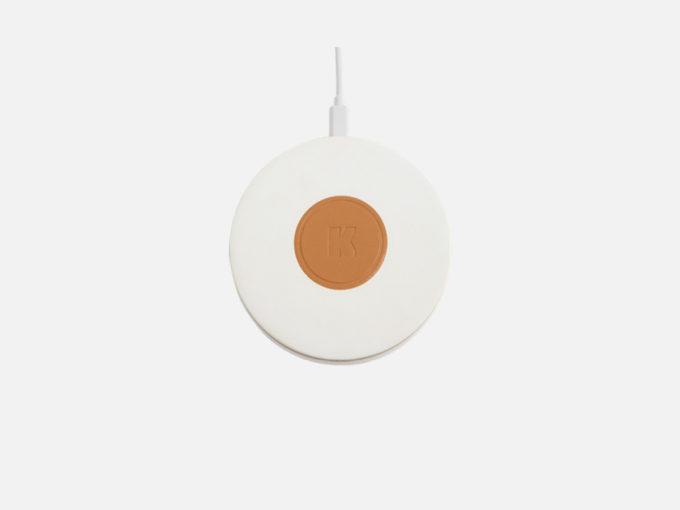kreafunk wicharge bežični punjač bijele boje