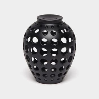Lexon ukrasna kasica prasica hope crne boje