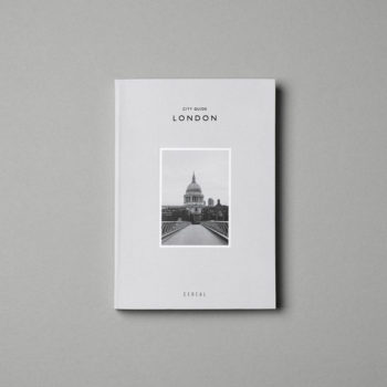 CEREAL ULTIMATE CITY GUIDE TO LONDON COVER