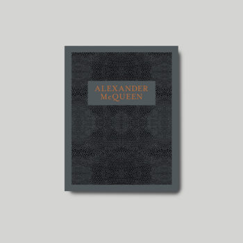 ALEXANDER McQUEEN BIOGRAPHY BY CLAIRE WILCOX BOOK COVER