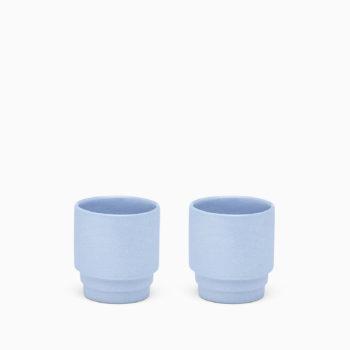 Puik monday keramičke šalice za espresso plave boje set od dvije