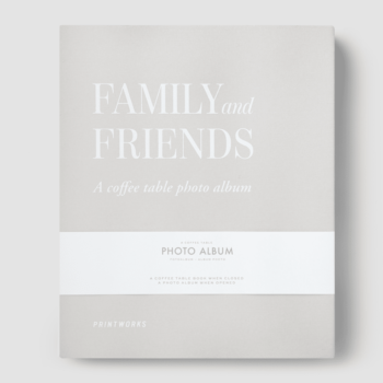 PRINTWORKS FOTO ALBUM FAMILY&FRIENDS