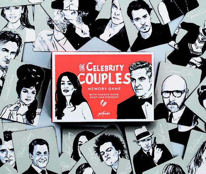printworks memory društvena igra sa slavnim parovima