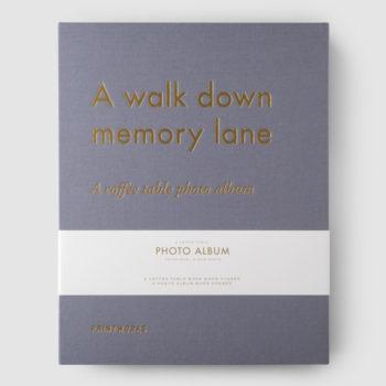 Printworks sivi foto-album a walk down memory lane