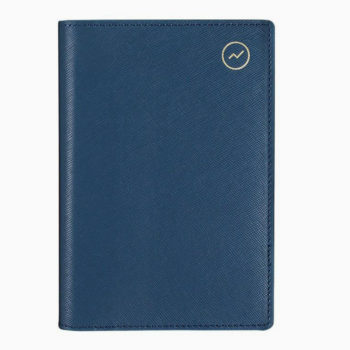 MI GOALS BLUE TRAVEL WALLET FOR EVERYTHING IN ONE PLACE