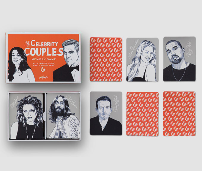 printworks memory društvena igra slavni parovi