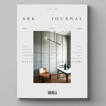 ARK JOURNAL VOL.3 MAGAZINE ABOUT DESIGN COVER VARIATION 4