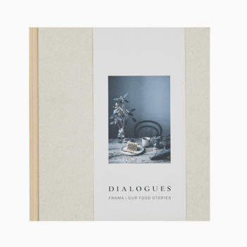 FRAMA DIALOGUOES AND OUR FOOD STORIES BOOK COVER