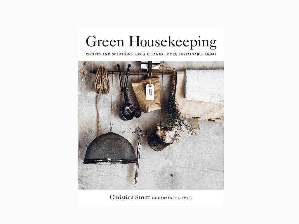 green housekeeping knjiga za zdraviji i ekološki prihvatljivi dom Christina Strutt naslovnica