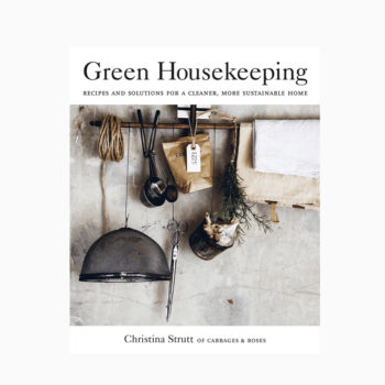 GREEN HOUSEKEEPING BY CHRISTINA STRUTT GUIDE TO A HEALTHY SUSTAINABLE LIFE BOOK COVER