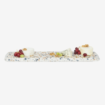 DOIY TERRAZZO SERVING BOARD IN SIZE XL LIFESTYLE EXAMPLE