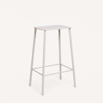 ADAM STOOL MONO GREY H65 STEEL FRAME