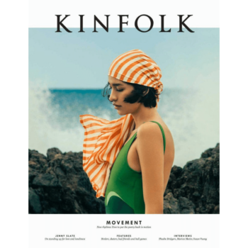 KINFOLK 36 LIFESTYLE MAGAZINE ON THEME OF MOVEMENT COVER