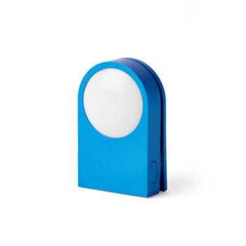 LEXON LUCIE BLUE WEARABLE LED LIGHT CLIP