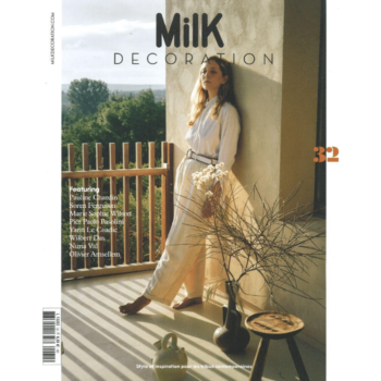 MILK DECORATION BR. 32 MAGAZINE ON MODERN DESIGN AND HOME DECORATION COVER