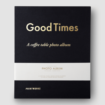 PRINTWORKS FOTO ALBUM – Good Times (L) CRNI NASLOVNICA