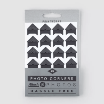 PRINTWORKS PHOTO CORNERS STICKERS FOR ATTACHING PHOTOS